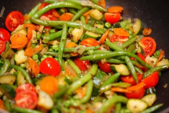 рецепт лечо с замороженными овощами