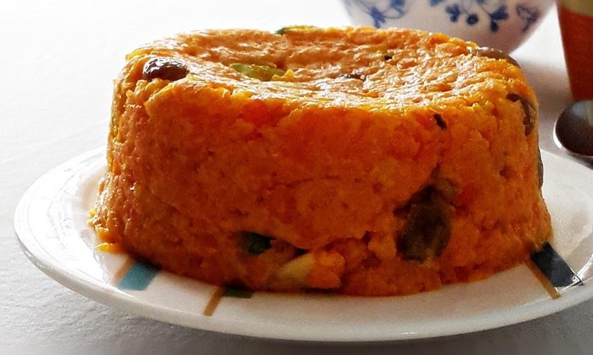 морковная запеканка в мультиварке рецепт с фото представляет собой отверстие