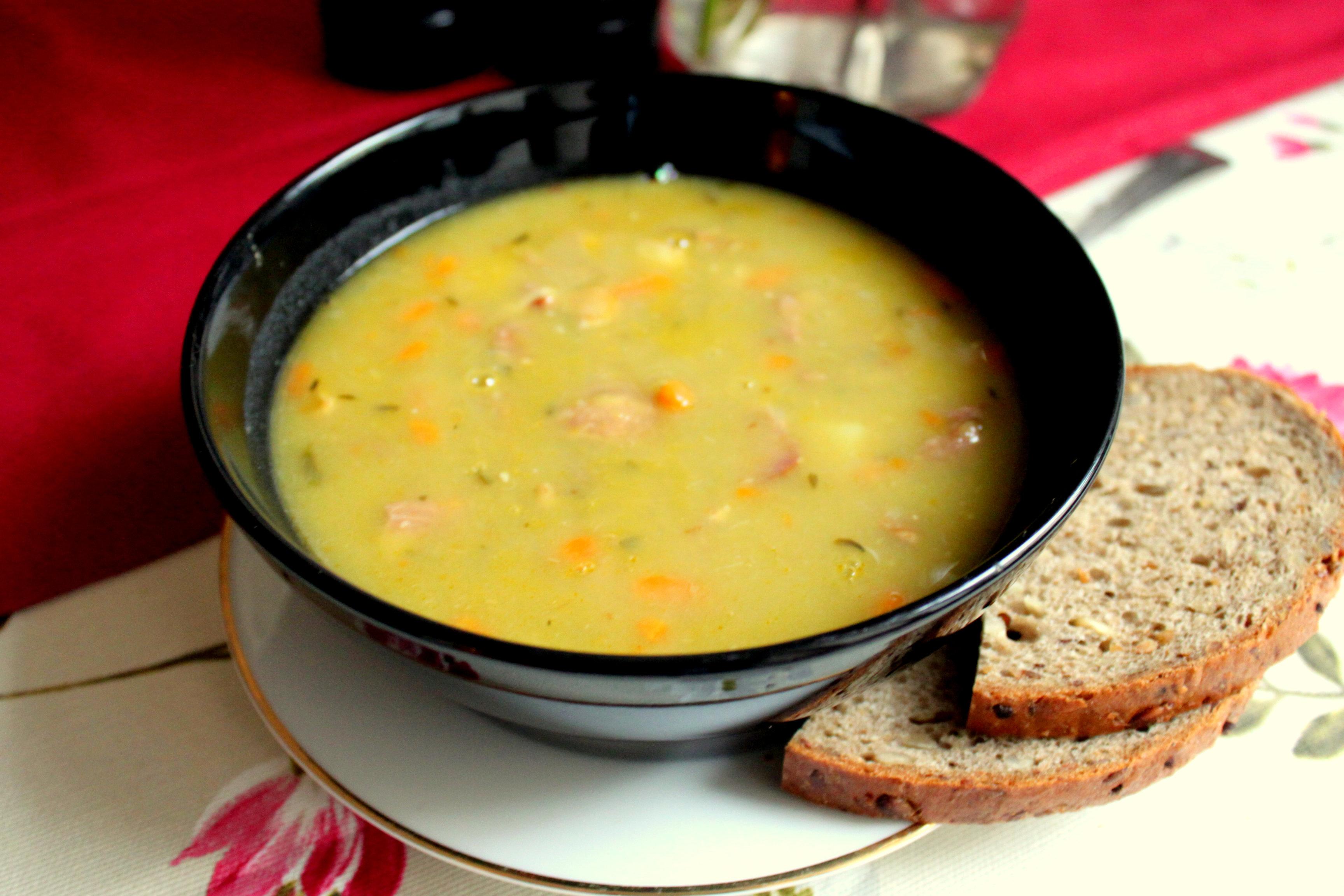 Гороховый суп простой рецепт с фото