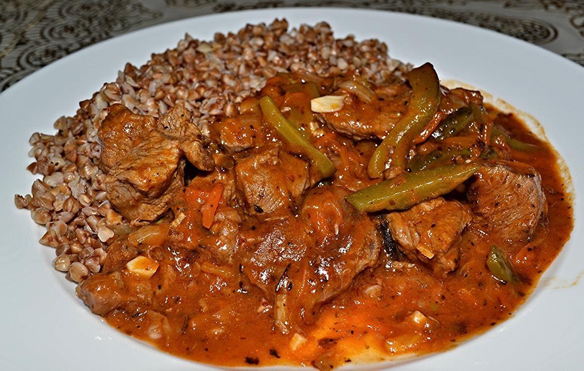 Рецепты тушеного мяса свинины с фото