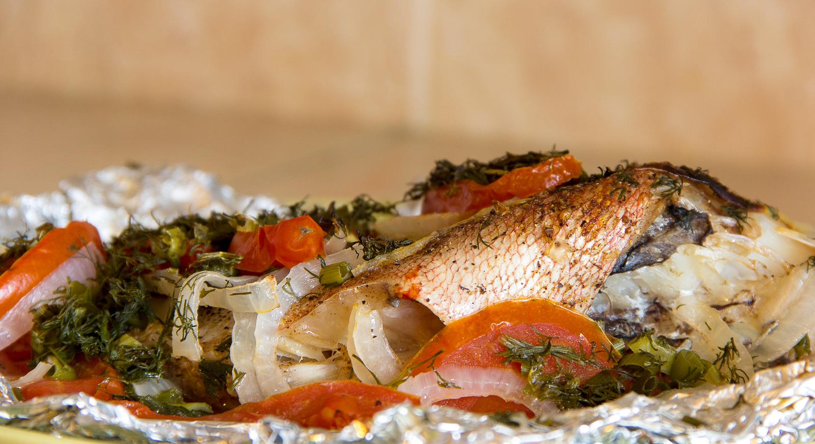 Морской окунь рецепты на пару в мультиварке рецепты с фото