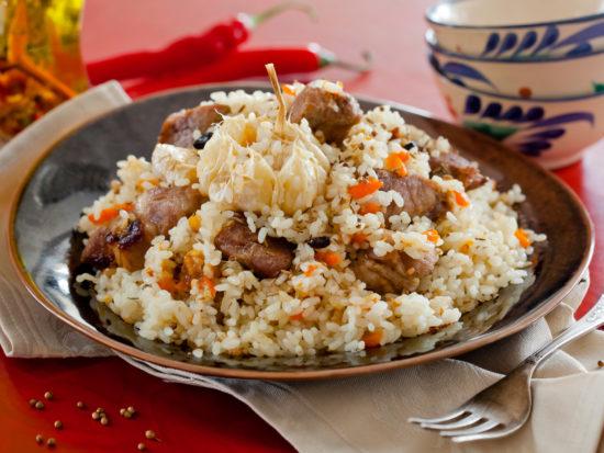 Тушенка с рисом в мультиварке редмонд